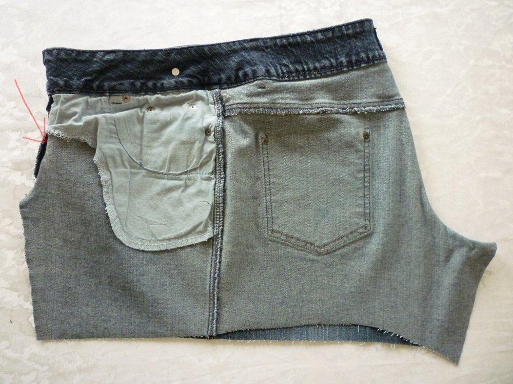 n hanleitung tasche aus alter jeans teil 2 bernina blog. Black Bedroom Furniture Sets. Home Design Ideas