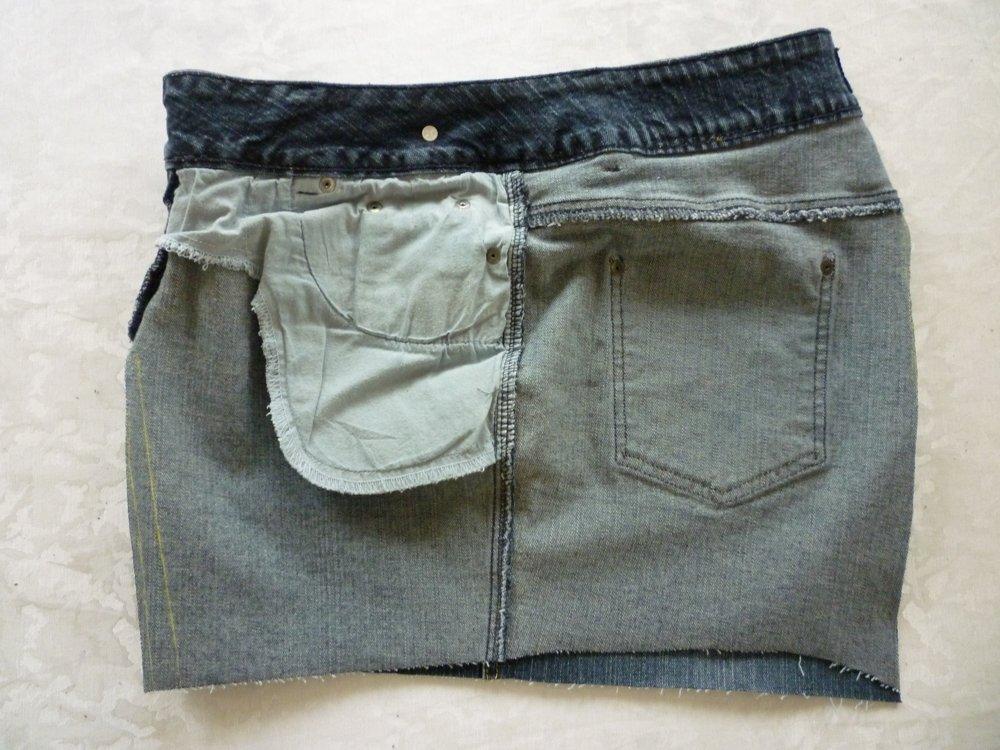 Nähanleitung: Tasche aus alter Jeans, Teil 2
