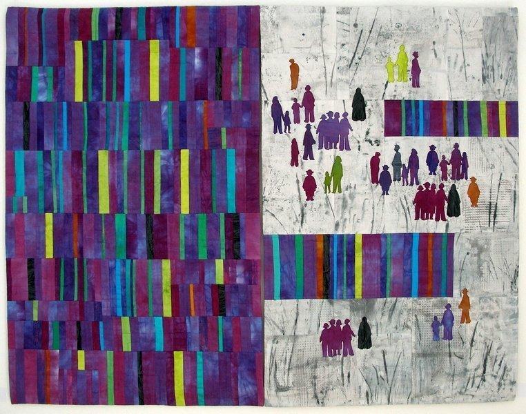 Christa Ebert (D): Miteinander II Foto: Christa Ebert
