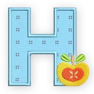 Cooking-Alphabet, das H