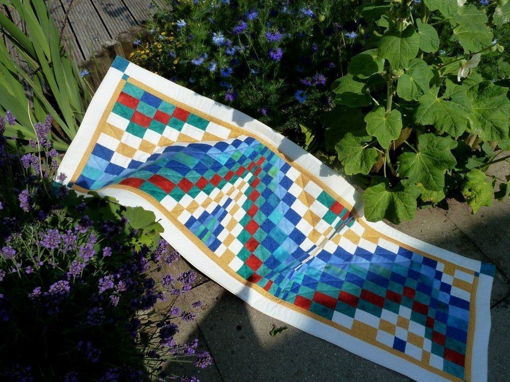 Anleitung: so näht man das Bargello-Muster » BERNINA Blog