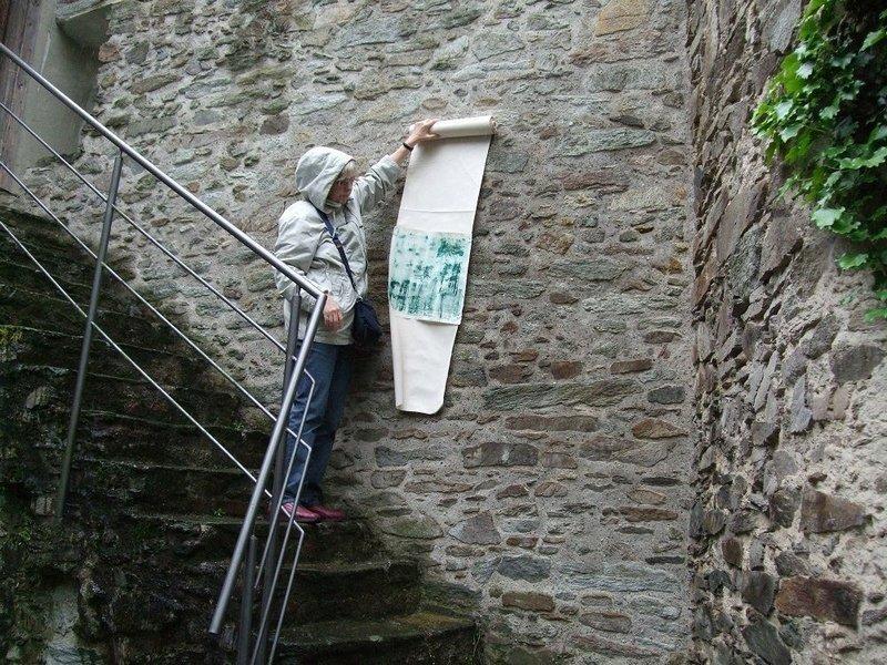 Massnehmen bei den Stufen Foto: A. Christ