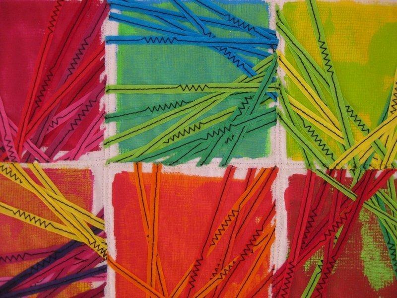 Elisabeth Graf (CH): Fadegrad, Detail