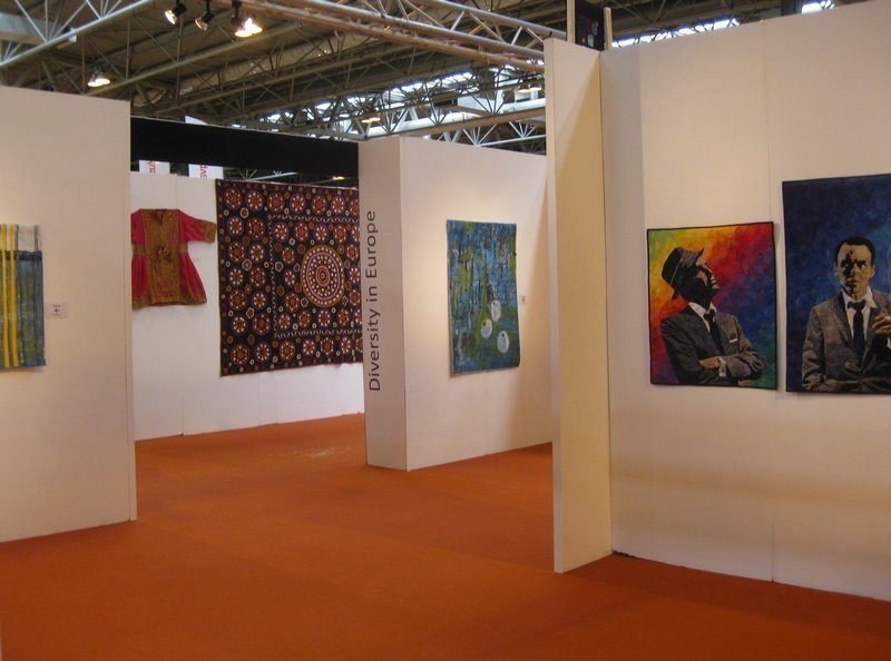 The Festival of Quilts Foto: Gudrun Heinz