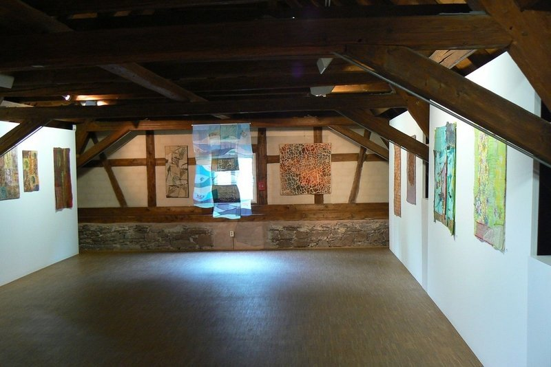 Ausstellung 'QUILT ART' der Gruppe Glashaus Foto: Anne Christ