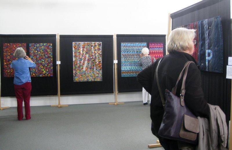Blick in die Ausstellung 'Insider-Gallery'
