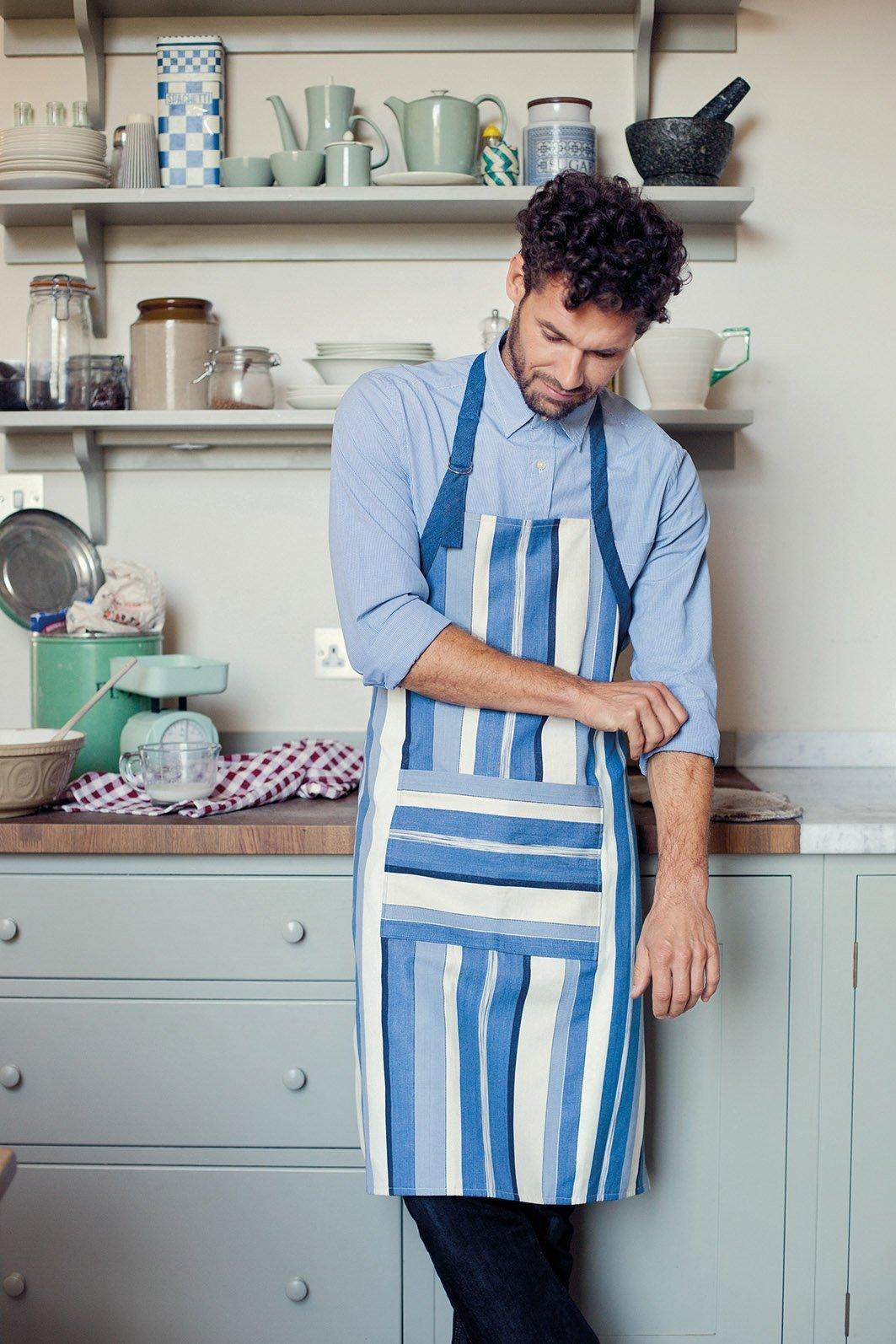 Kochschürze für männer selber nähen