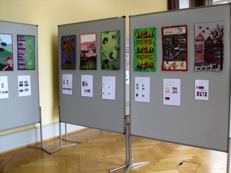 Blick in die Ausstellung 'Let's celebrate together'
