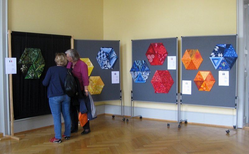 Blick in die Ausstellung 'Movement'
