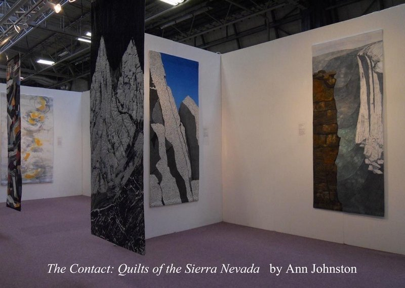 Ann Johnston - The Contact: Quilts of the Sierra Nevada Foto: Ann Johnston