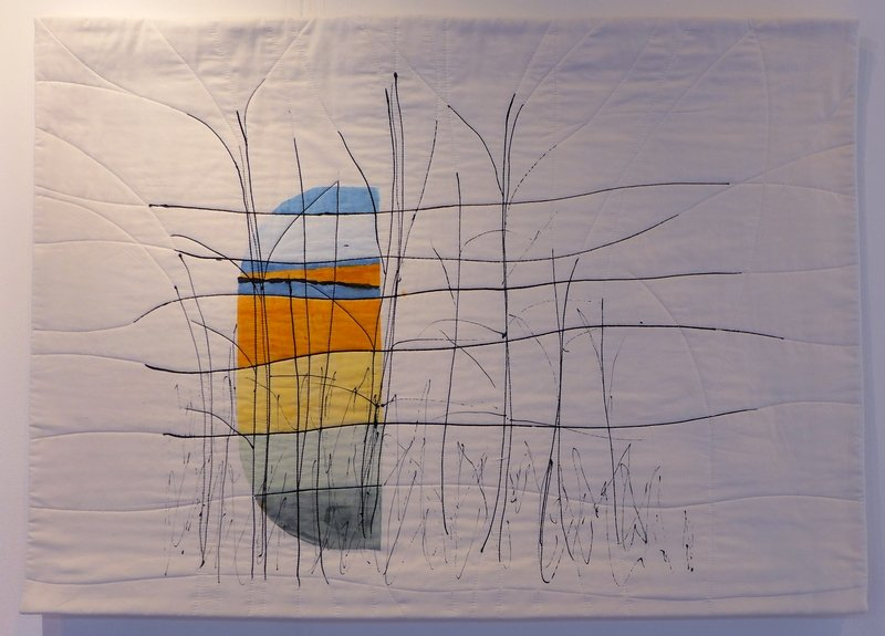 Cherry Vernon-Harcourt: Coastal Study 1 Anglia Textile Works - Joining Forces