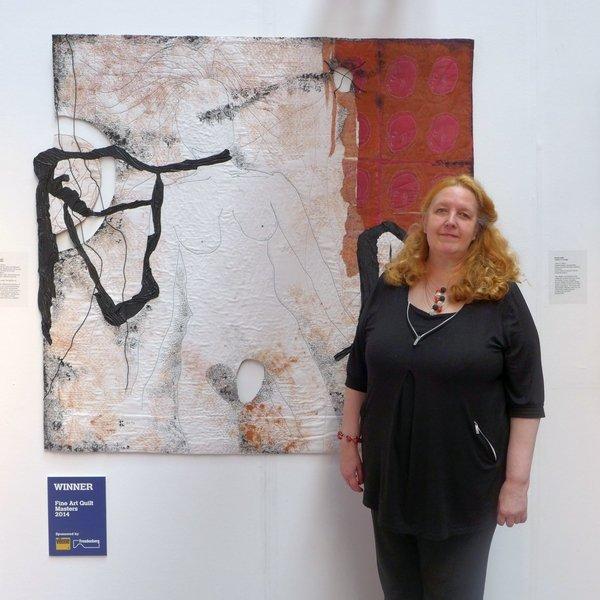 Brigitte Kopp: 'Gebärmütter' 1. Preis im Wettbewerb Fine Art Quilt Masters 2014