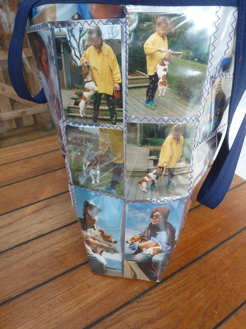 Nähanleitung Plastiktasche