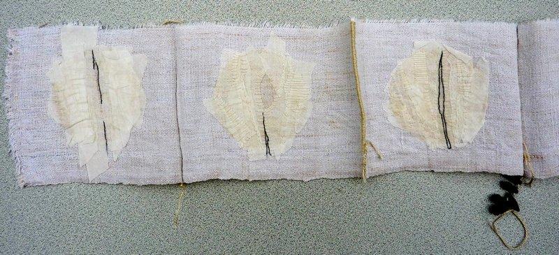 Exponat von Pascale Goldenberg, Detail Foto freundlicherweise zur Verfügung gestellt von Pascale Goldenberg