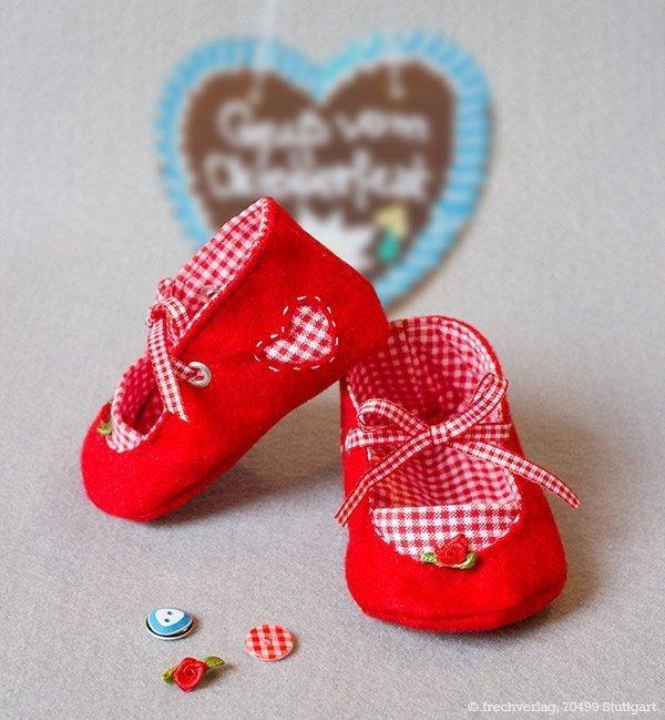 best service 17844 1e185 Babyschuhe nähen » BERNINA Blog