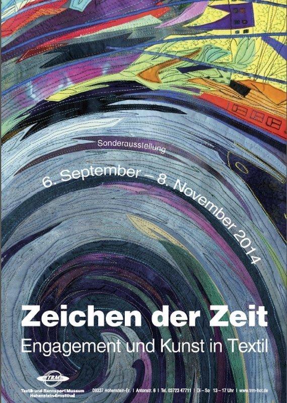 Ausstellungsplakat basierend auf der Arbeit von Barbara Blattl: Präludium für das Morgen, Detail