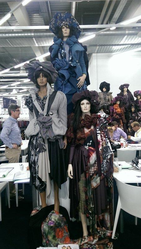 Puppen Stoffmesse München 2014