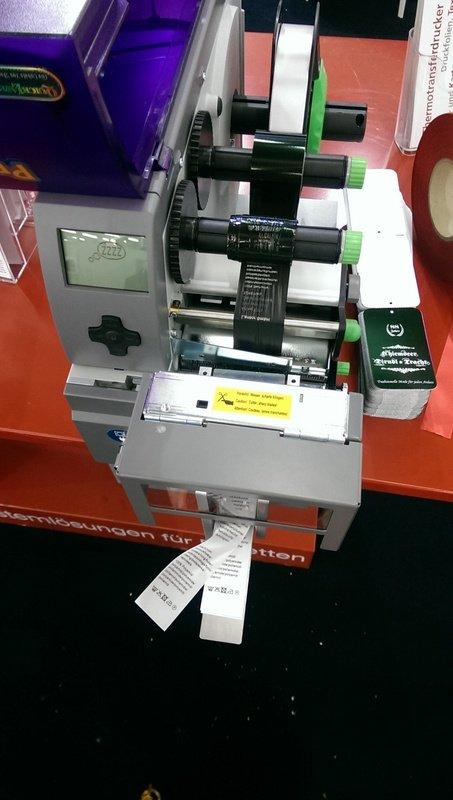 Labeldrucker Stoffmesse München