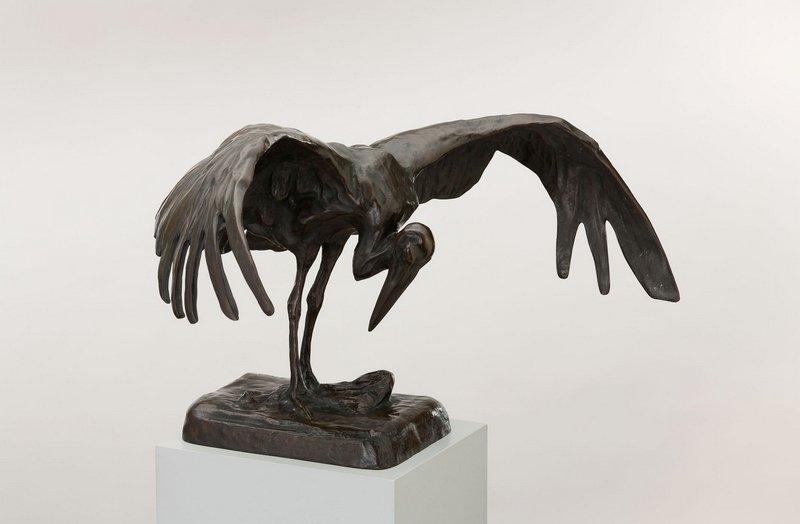 Reiher Entwurf: Wera von Bartels, um 1912 Bronze © Privatsammlung, München