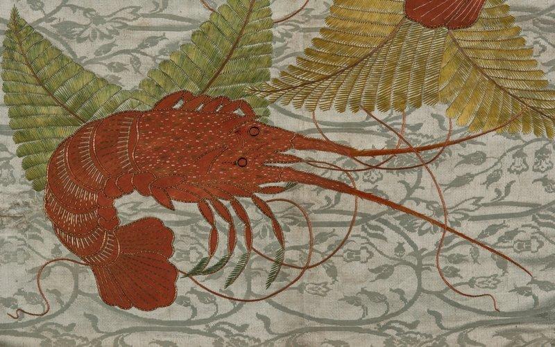 Fukusa (Präsenttuch), Japan, 19. Jh. Sammlung Textilmuseum St. Gallen Foto: Linus Rieser, 2013