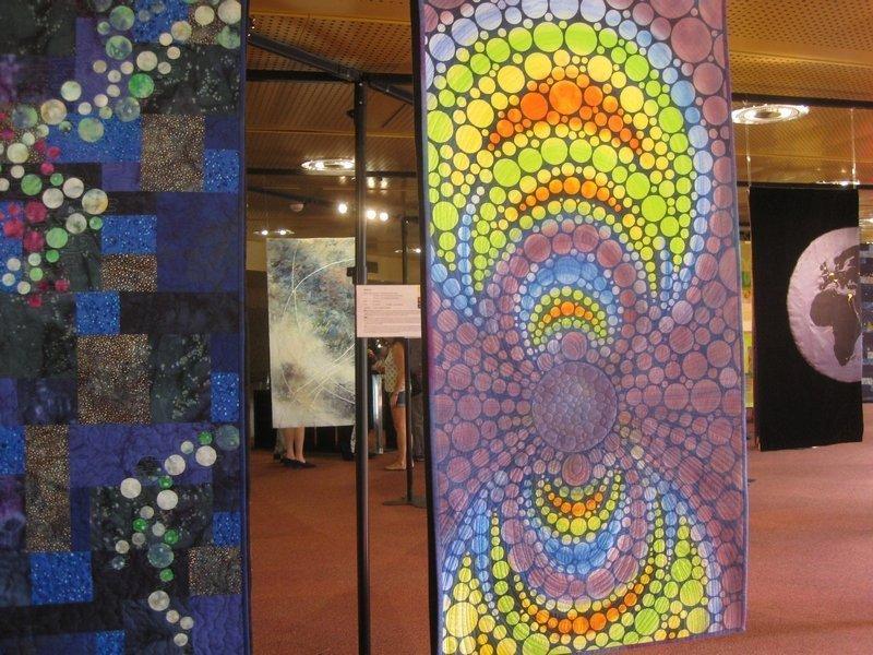 Blick in die Ausstellung 'Radiation - Strahlung' in Genf Foto: Gudrun Heinz
