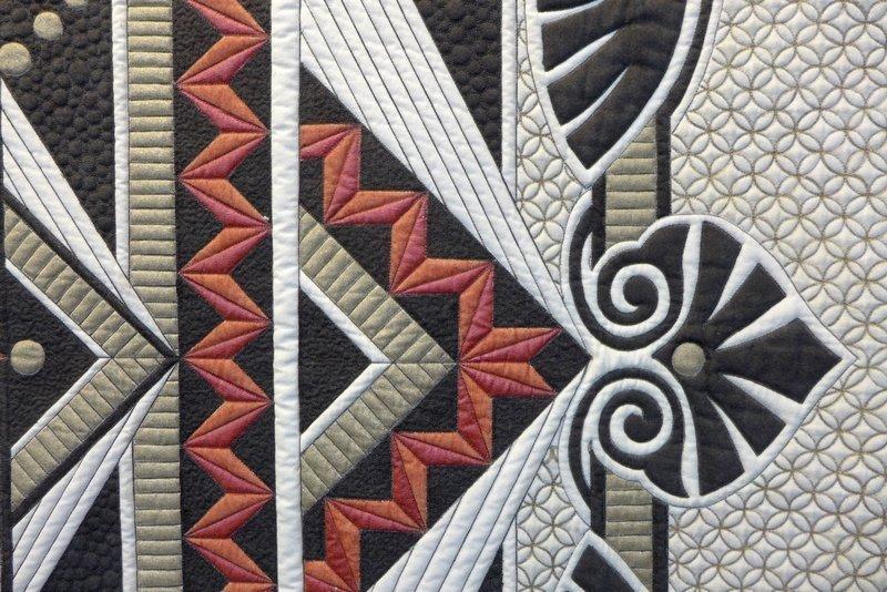 Pam Hill (AUS): Counterpoint, Detail Ausstellung des Gastlands Australien