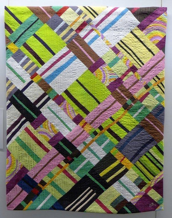 Edith Bieri (CH): Teximus Ausstellung des SAQA- Wettbewerbs Wide Horizons IV