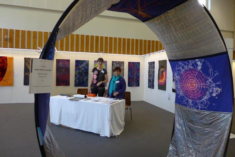 Blick in die Ausstellung 'Radiation - Strahlung'