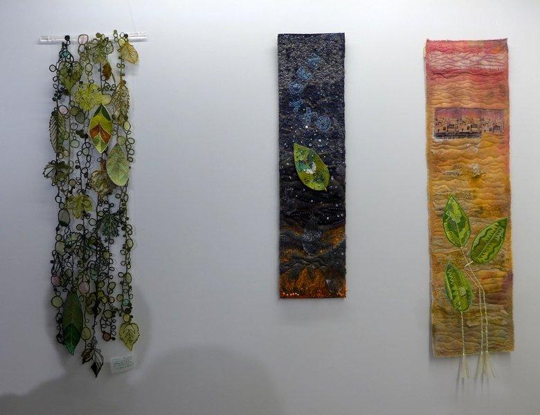 Nadine Richard (F): Ever Green, Annette Fäßler-Trost (D): Oxygen, Adelheid Lau (D): Oase Ausstellung 'Forest for Ever'
