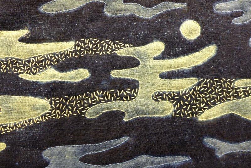 Anne Woringer (F): Signes du ciel, Detail Ausstellung 'Au fil d'une passion'