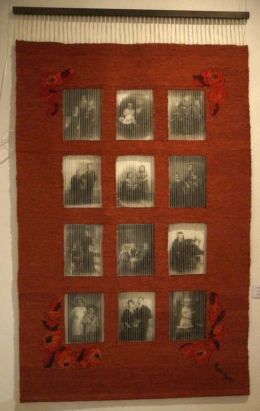 Gestern war's Hanf, Foto auf Folie, Mischtechnik 80 x 135 cm
