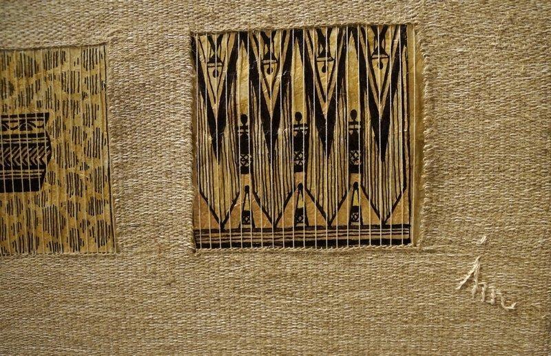Sinnbild Afrika, Detail