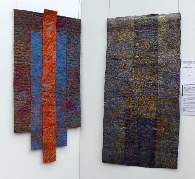 Cherilyn Martin (UK): Graven Images # 2, 2006, Graven Images # 6, 2011