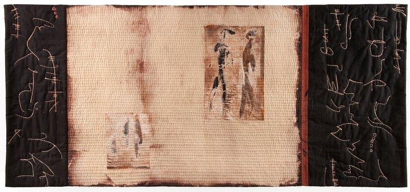 Annemarie Zoller-Sicker: Schrifttafel Foto: Museen Deggendorf