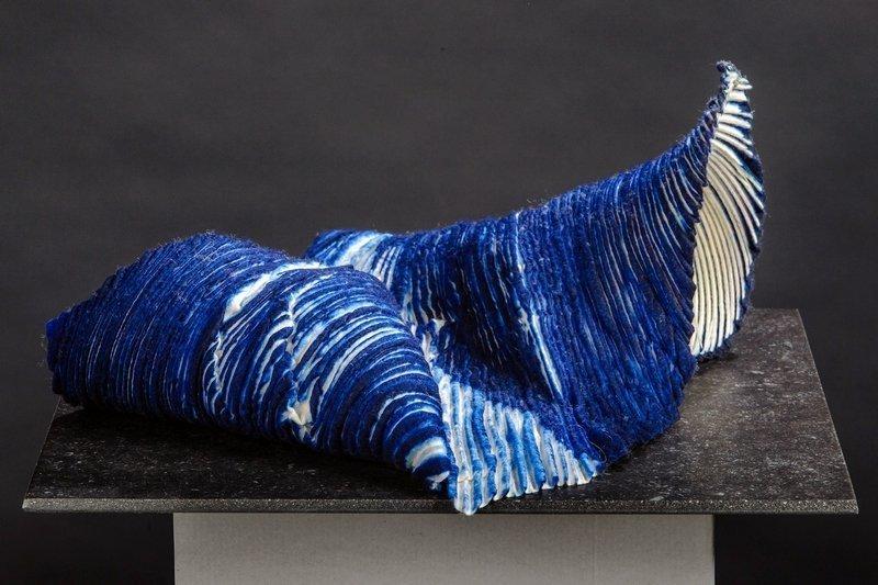 Lucie Haentjens (B): Rhapsody in blue Foto: Eddie Daniels