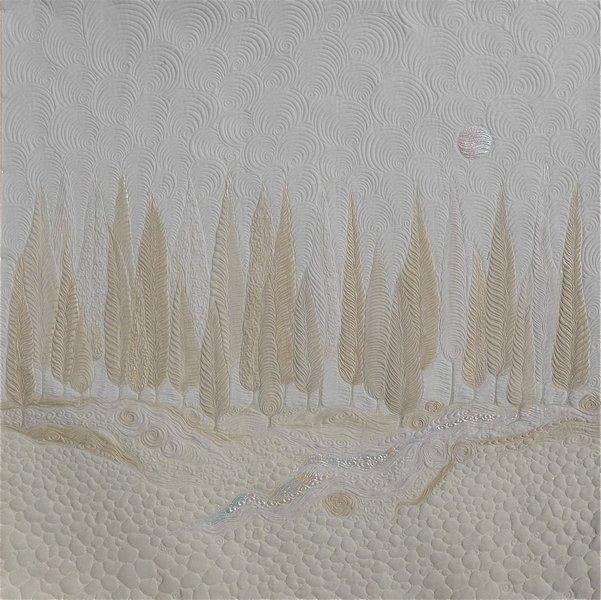 Jacqueline Heinz: Bäume Foto: Quilt Et Textilkunst