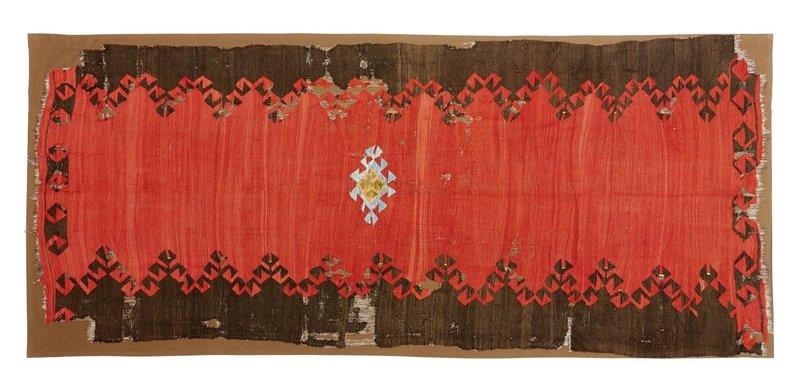 Kelim aus Westanatolien, Mitte 19. Jahrhundert, ca. 147 x 347 Foto: Markus Baumann