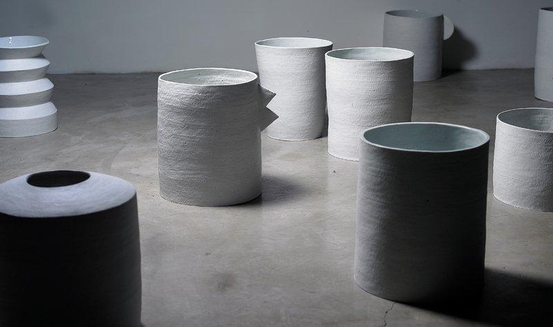 Kiho Kang: Ohne Titel Porzellan, 50 x 80 x 50 cm Foto: Kiho Kang