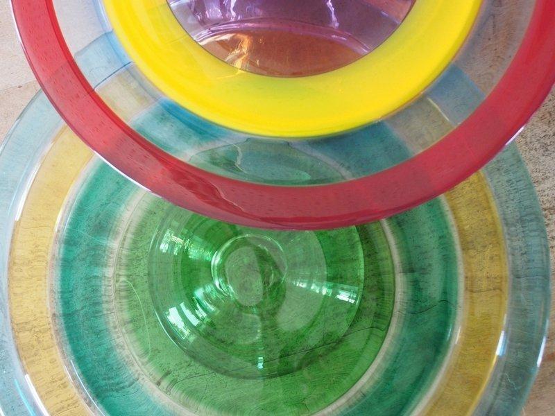 Weiberwalz: Glas-Tortenplatten
