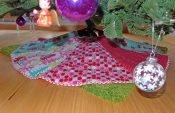Nähanleitung: Weihnachtsbaum-Decke (Weihnachtsbaum-Rock)