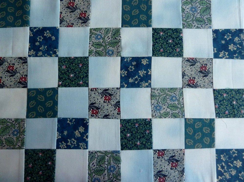 Nähanleitung Schachbrettmuster