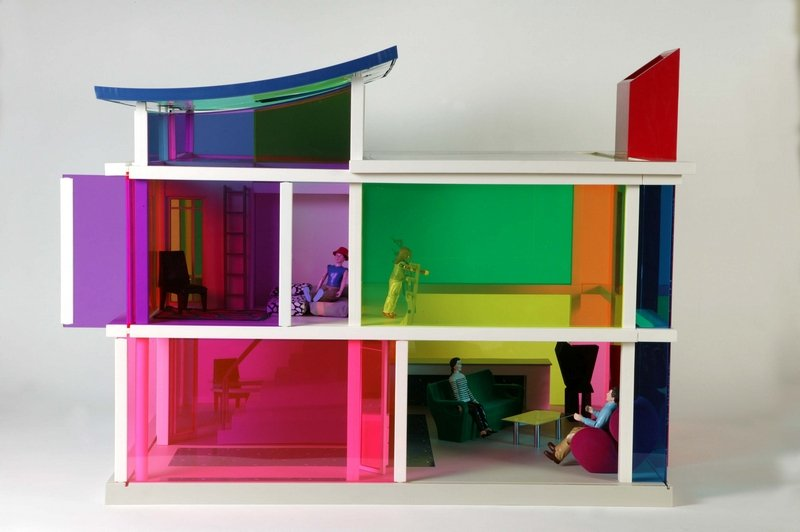 Kaleidoscope House Laurie Simmons, Peter Wheelwright und Bozart USA, 2001 Foto: © Victoria and Albert Museum, London