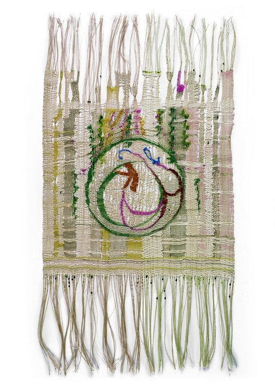 Hedwig Klöckner-Triebe, ohne Titel, 1967/68 Spitzengewebe 28 x 53 cm Museum für Kunst und Kultur-geschichte Dortmund, Inv. Nr. 2006/80 Foto: Madeleine-Annette Albrecht