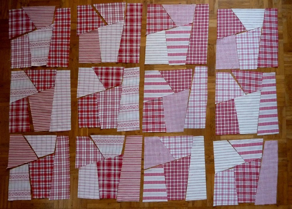 Nähanleitung Crazy-Muster: der schnelle Quilt