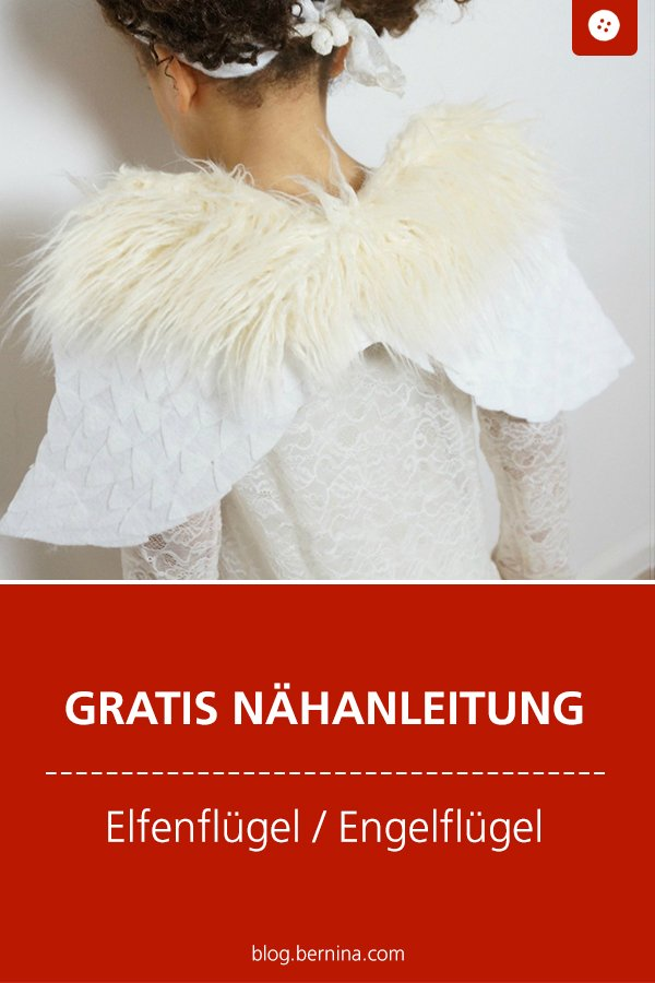 Kostenlose Nähanleitung: Elfenflügel / Engelsflügel nähen