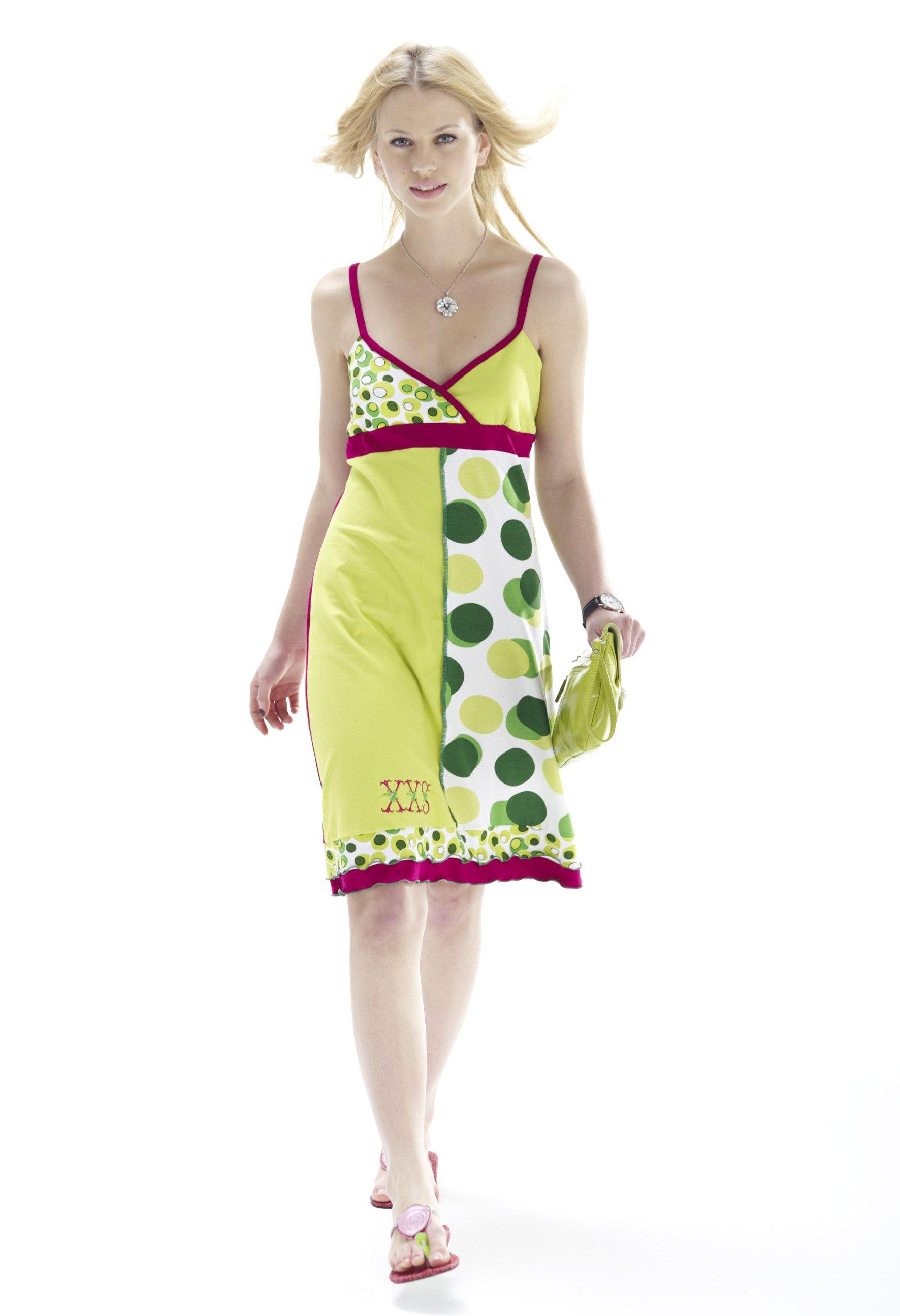 Schnittmuster und Anleitung für ein Kleid mit der Overlock