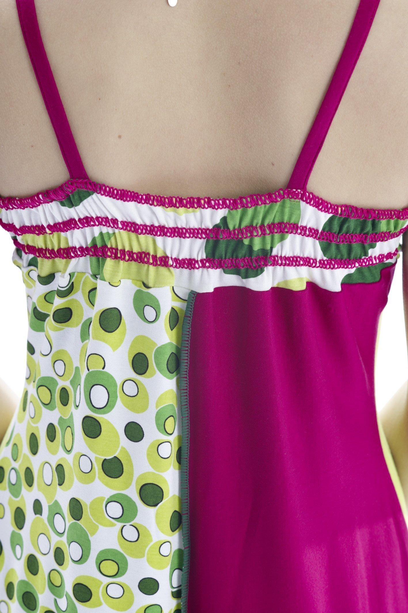 Kleid nahen mit overlock