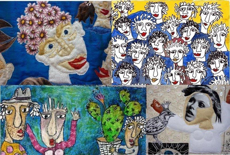 Jutta Kohlbeck: Ausstellung Ansichtssache(n), Detail Foto: Jutta Kohlbeck