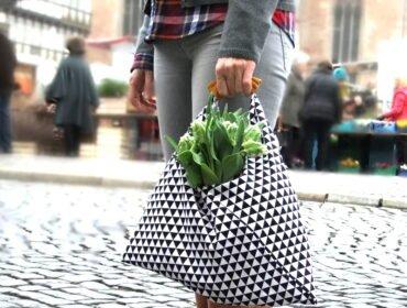 Origami-Tasche