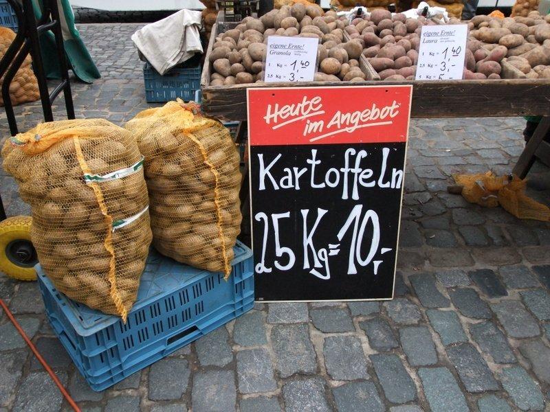 Kartoffeln Markt Braunschweig